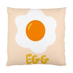 Egg Eating Chicken Omelette Food Standard Cushion Case (two Sides)