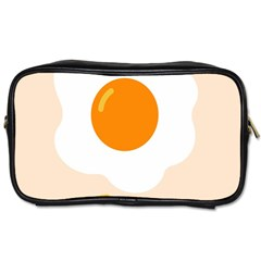 Egg Eating Chicken Omelette Food Toiletries Bags