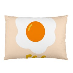 Egg Eating Chicken Omelette Food Pillow Case (two Sides)