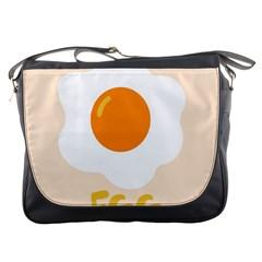 Egg Eating Chicken Omelette Food Messenger Bags