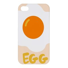 Egg Eating Chicken Omelette Food Apple Iphone 4/4s Premium Hardshell Case