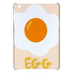 Egg Eating Chicken Omelette Food Apple iPad Mini Hardshell Case