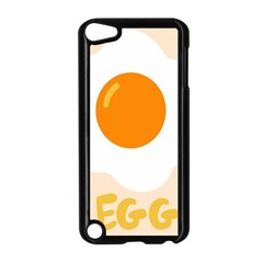 Egg Eating Chicken Omelette Food Apple Ipod Touch 5 Case (black)