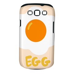 Egg Eating Chicken Omelette Food Samsung Galaxy S Iii Classic Hardshell Case (pc+silicone)