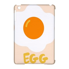 Egg Eating Chicken Omelette Food Apple Ipad Mini Hardshell Case (compatible With Smart Cover)