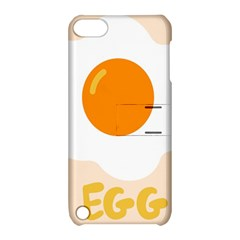 Egg Eating Chicken Omelette Food Apple Ipod Touch 5 Hardshell Case With Stand