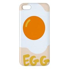 Egg Eating Chicken Omelette Food Apple Iphone 5 Premium Hardshell Case