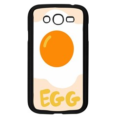 Egg Eating Chicken Omelette Food Samsung Galaxy Grand Duos I9082 Case (black)