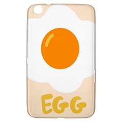 Egg Eating Chicken Omelette Food Samsung Galaxy Tab 3 (8 ) T3100 Hardshell Case