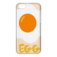 Egg Eating Chicken Omelette Food Apple iPhone 5C Hardshell Case