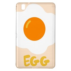 Egg Eating Chicken Omelette Food Samsung Galaxy Tab Pro 8.4 Hardshell Case