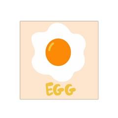 Egg Eating Chicken Omelette Food Satin Bandana Scarf