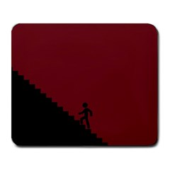 Walking Stairs Steps Person Step Large Mousepads