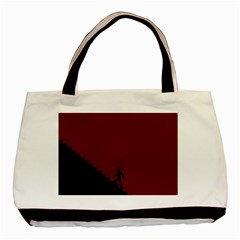 Walking Stairs Steps Person Step Basic Tote Bag