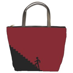 Walking Stairs Steps Person Step Bucket Bags