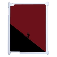 Walking Stairs Steps Person Step Apple Ipad 2 Case (white)