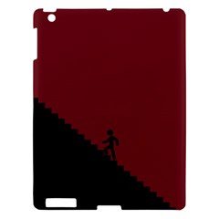 Walking Stairs Steps Person Step Apple iPad 3/4 Hardshell Case