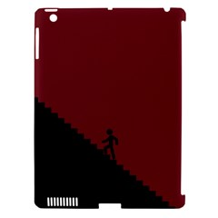 Walking Stairs Steps Person Step Apple Ipad 3/4 Hardshell Case (compatible With Smart Cover)