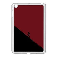 Walking Stairs Steps Person Step Apple iPad Mini Case (White)