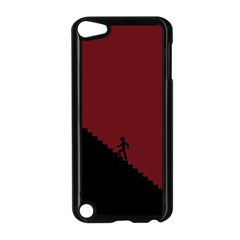 Walking Stairs Steps Person Step Apple iPod Touch 5 Case (Black)