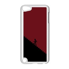 Walking Stairs Steps Person Step Apple Ipod Touch 5 Case (white)