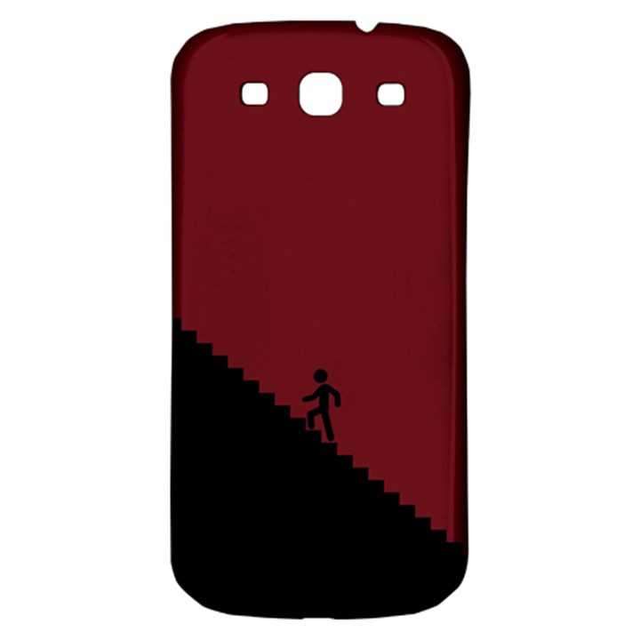Walking Stairs Steps Person Step Samsung Galaxy S3 S III Classic Hardshell Back Case