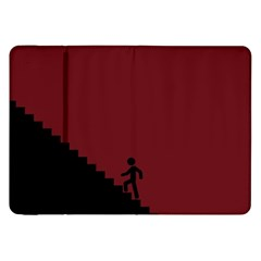 Walking Stairs Steps Person Step Samsung Galaxy Tab 8 9  P7300 Flip Case