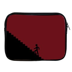 Walking Stairs Steps Person Step Apple Ipad 2/3/4 Zipper Cases