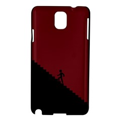Walking Stairs Steps Person Step Samsung Galaxy Note 3 N9005 Hardshell Case