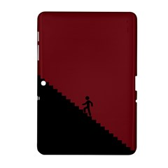 Walking Stairs Steps Person Step Samsung Galaxy Tab 2 (10 1 ) P5100 Hardshell Case
