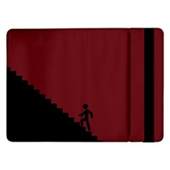 Walking Stairs Steps Person Step Samsung Galaxy Tab Pro 12 2  Flip Case