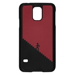 Walking Stairs Steps Person Step Samsung Galaxy S5 Case (black)
