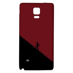 Walking Stairs Steps Person Step Galaxy Note 4 Back Case