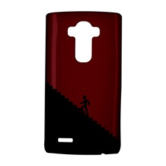 Walking Stairs Steps Person Step LG G4 Hardshell Case