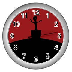 Baby Groot Guardians Of Galaxy Groot Wall Clocks (Silver)