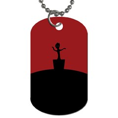 Baby Groot Guardians Of Galaxy Groot Dog Tag (one Side)