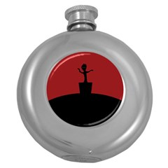 Baby Groot Guardians Of Galaxy Groot Round Hip Flask (5 oz)