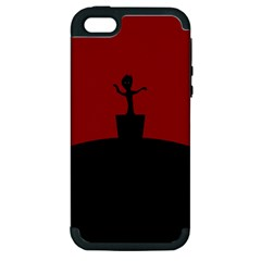 Baby Groot Guardians Of Galaxy Groot Apple Iphone 5 Hardshell Case (pc+silicone)