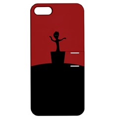 Baby Groot Guardians Of Galaxy Groot Apple iPhone 5 Hardshell Case with Stand