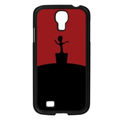 Baby Groot Guardians Of Galaxy Groot Samsung Galaxy S4 I9500/ I9505 Case (black)