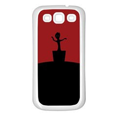 Baby Groot Guardians Of Galaxy Groot Samsung Galaxy S3 Back Case (white)