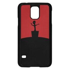 Baby Groot Guardians Of Galaxy Groot Samsung Galaxy S5 Case (black)