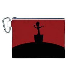 Baby Groot Guardians Of Galaxy Groot Canvas Cosmetic Bag (L)