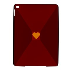 Heart Red Yellow Love Card Design Ipad Air 2 Hardshell Cases