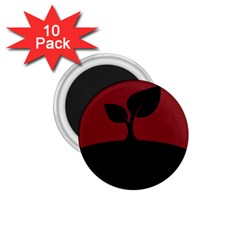 Plant Last Plant Red Nature Last 1.75  Magnets (10 pack)