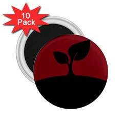 Plant Last Plant Red Nature Last 2 25  Magnets (10 Pack)