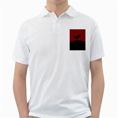 Plant Last Plant Red Nature Last Golf Shirts