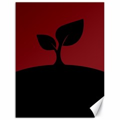 Plant Last Plant Red Nature Last Canvas 18  x 24