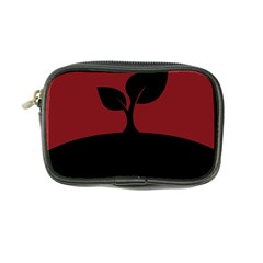 Plant Last Plant Red Nature Last Coin Purse