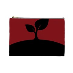 Plant Last Plant Red Nature Last Cosmetic Bag (Large)